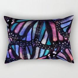 butterflies /Agat/  Rectangular Pillow