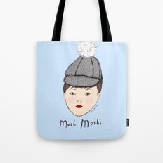 Moshi Moshi - Blue Tote Bag