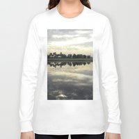 florida Long Sleeve T-shirts featuring Florida Sunrise by Stephanie Stonato