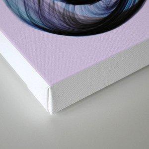 Bird Flame Purple Canvas Print