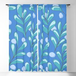 Juniper Bleu Blackout Curtain