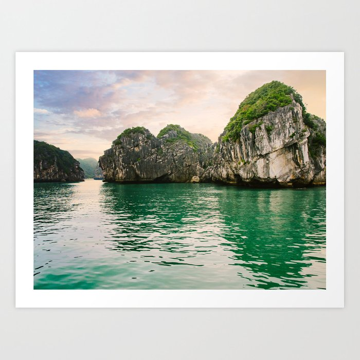 Halong Bay Vietnam Fine Art Print  • Travel Photography • Wall Art Art Print