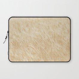 Summer Wheat Photograph Laptop Sleeve