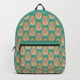Colorful Hamsa Hand Backpack