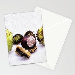 chestnut (Castanea) Stationery Cards