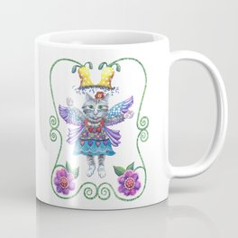 Angel Kitty Coffee Mug