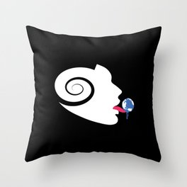 Seducing the Stars Throw Pillow