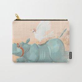 Rhino run Carry-All Pouch