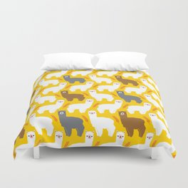 The Alpacas Duvet Cover