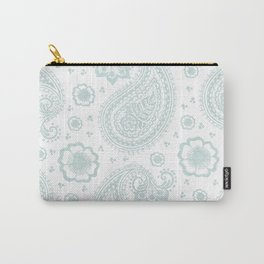 paisley: duff grey Carry-All Pouch