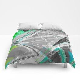 ∆Green Comforters