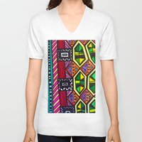 prism V-neck T-shirts featuring Prism Schism by Katie Anderson Art