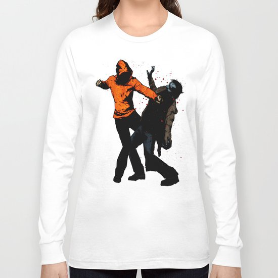 Zombie Fist Fight! Long Sleeve T-shirt