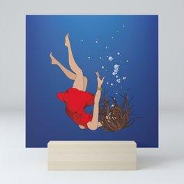 Sinking Slowly Mini Art Print