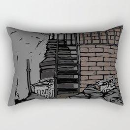 Back street Rectangular Pillow