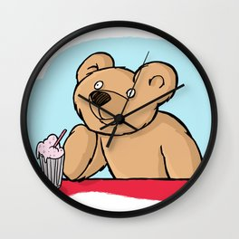 Is That More Food? Milkshakes Are For Dreamers. Wall Clock