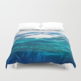 499 - Abstract Aerial Design Duvet Cover