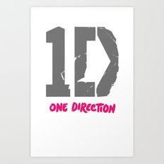 1 Direction Art Print