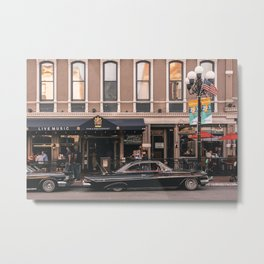 Impala in Gaslamp Metal Print