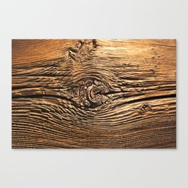 Woodgrain Canvas Print