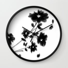 Large Daisy Design Wall Clock