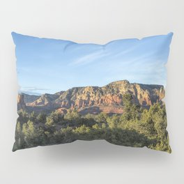 Early Evening Light on the Red Rocks of Sedona Pillow Sham