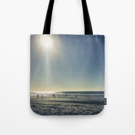 Cricket on the Beach Tote Bag
