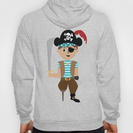 Ahoy Matey! Kids Pirate Treasure Hunt Hoody