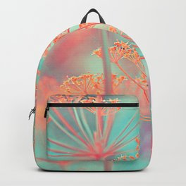 Floral abstract (80) Backpack