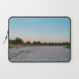 Forest with full moon at dawn in Tacuarembó, Uruguay Laptop Sleeve