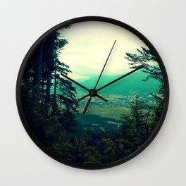 Bavaria Postcard Wall Clock