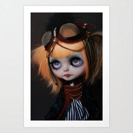 FREAKCIRCUS (Ooak BLYTHE Doll) Art Print