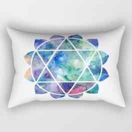 Chakra Anahata Rectangular Pillow