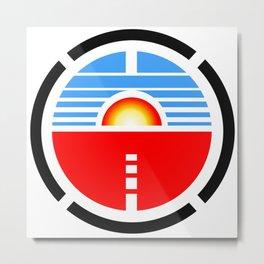 Saturn 3 Logo Metal Print