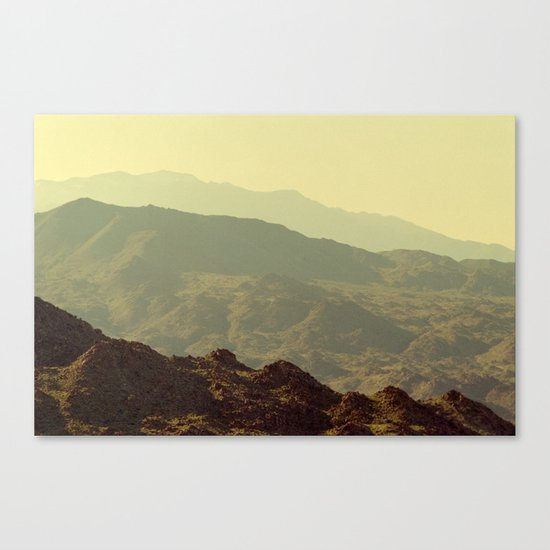 Palm Springs Mountains I Canvas Print