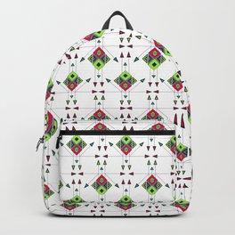 Tribal Colorful Arrow Ethnic Boho Pattern Backpack