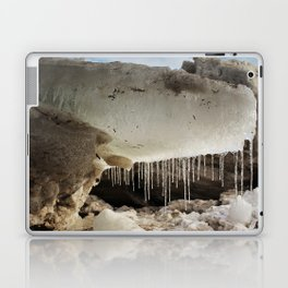 T Rex in Ice Laptop & iPad Skin