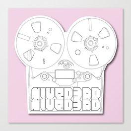 Tape Recorder  Canvas Print