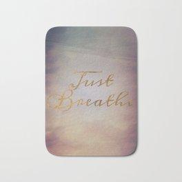 Just Breathe | Water Clouds Sunset Bath Mat