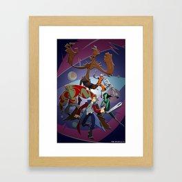 Guardians of the Galaxy (Print) Framed Art Print