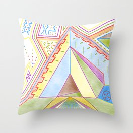 PowerLines 25 Throw Pillow