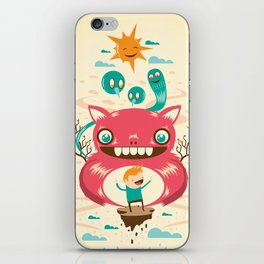 Imaginary Friends iPhone Skin