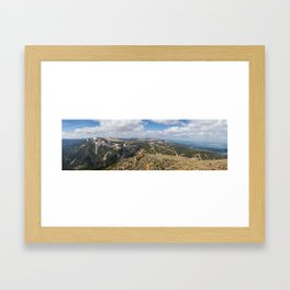 View from Sniezka Framed Art Print