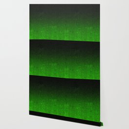 Green & Black Glitter Gradient Wallpaper
