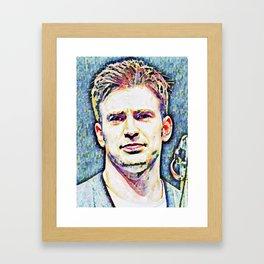 Chris Evans 1. Framed Art Print