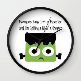 Monster Complex Wall Clock