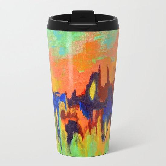The Color of Sound Metal Travel Mug