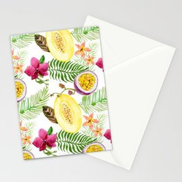 Fruits and Flowers Stationery Cards