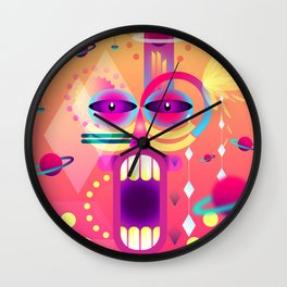 Apache Wall Clock