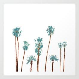 palm dream Art Print